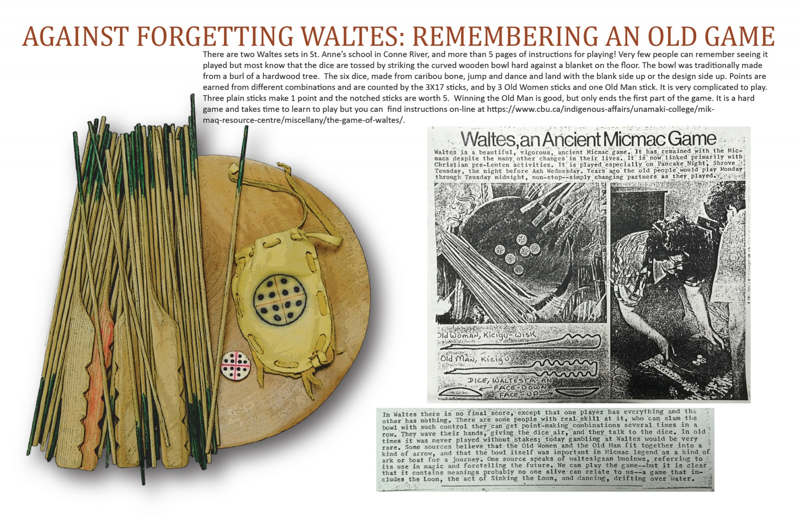 Against Forgetting Waltes: Remembering an Old Game