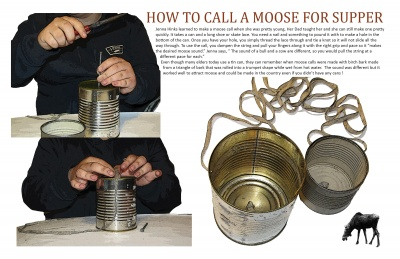 How to Call a Moose for Supper