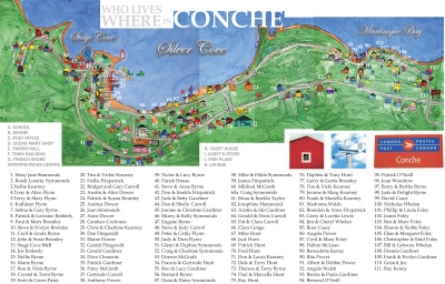 Who Lives Where in Conche