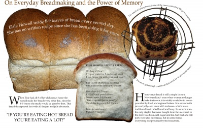 On Everyday Breadmaking and the Power of Memory