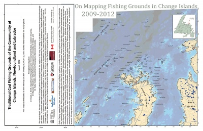 On Mapping Fishing Grounds in Change Islands 2009-2012