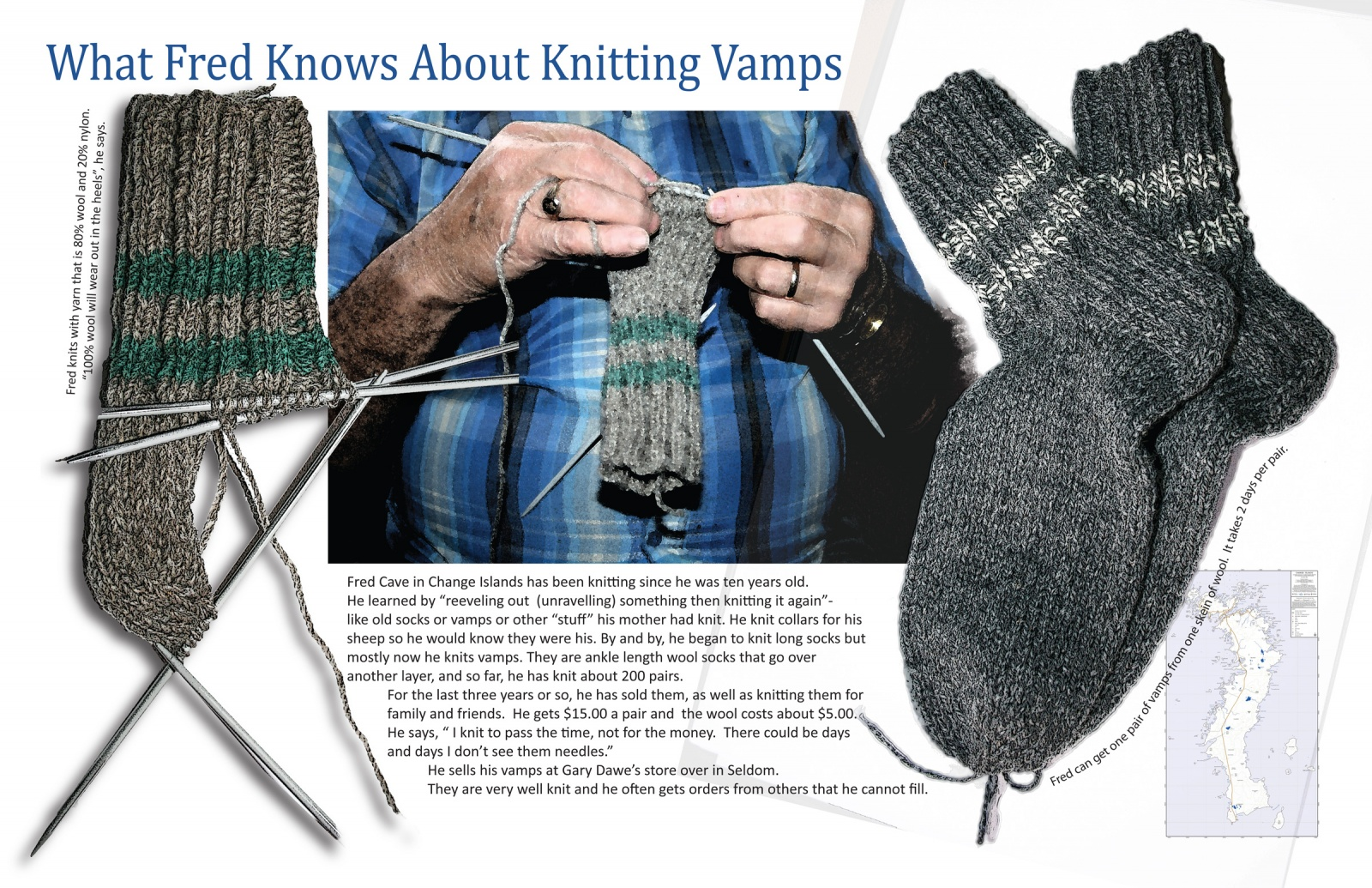 What Fred Knows About Knitting Vamps