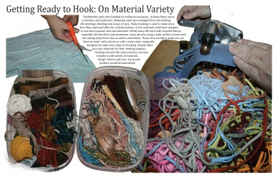 Getting Ready to Hook: On Material Variety