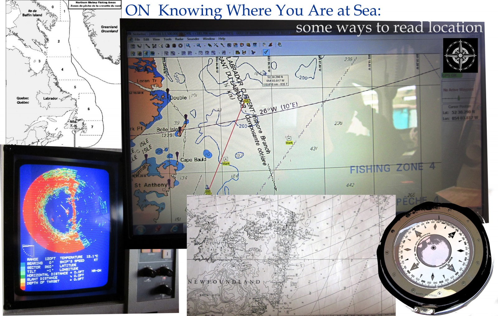 On Knowing Where You Are At Sea