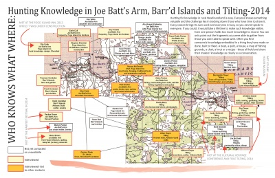 Who Knows What Where: Hunting Knowledge in Joe Batt's Arm, Barr'd Island and Tilting - 2014