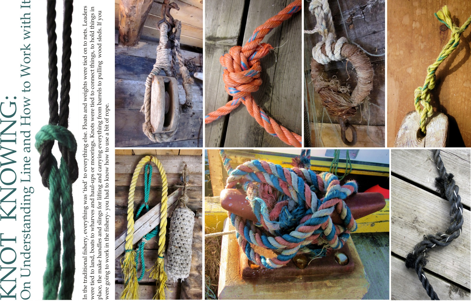 Knot Knowing: On Understanding Line and How to Work with It