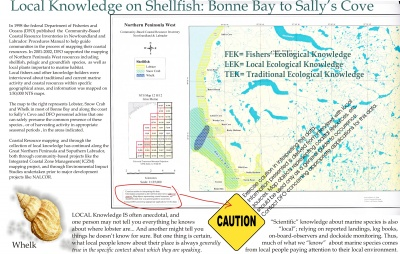 Local Knowledge on Shellfish: Bonne Bay to Sally's Cove
