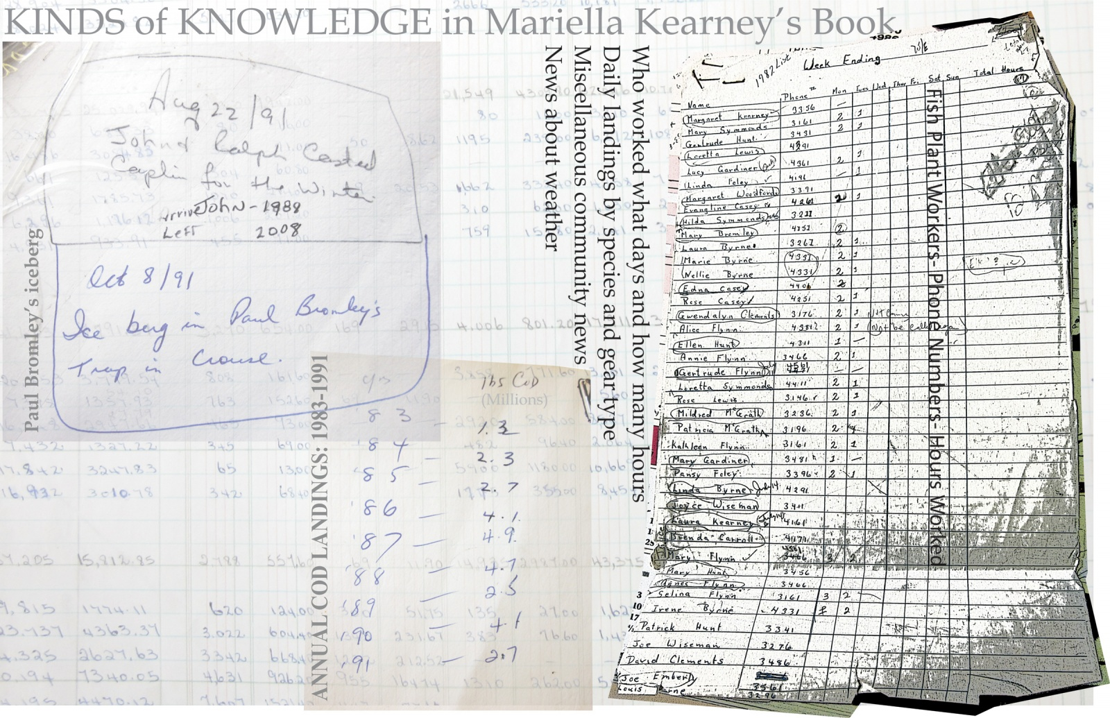 Kinds of Knowledge in Mariella Kearney's Book