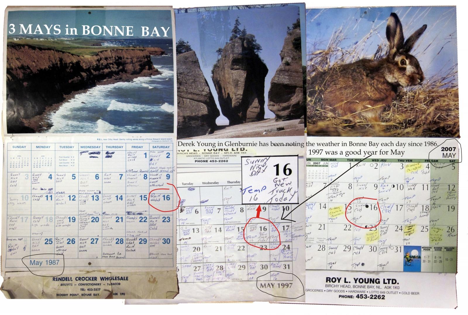 3 Mays in Bonne Bay