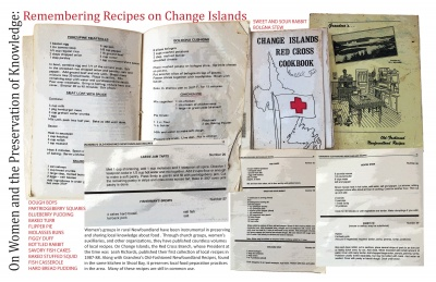 On Women and the Preservation of Knowledge: Remembering Recipes on Change Islands
