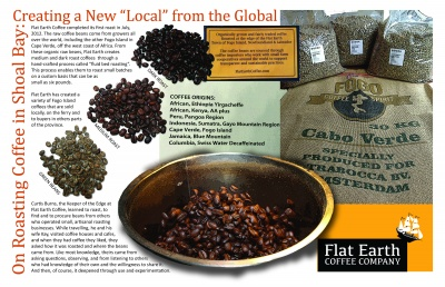 On Roasting Coffee in Shoal Bay: Creating a New