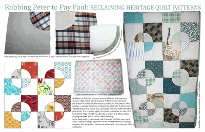 Robbing Peter to Pay Paul: Reclaiming Heritage Quilt Patterns