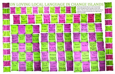 On Loving Local Language in Change Islands