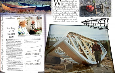 What Wesley Pilgrim Knows about Building Boats