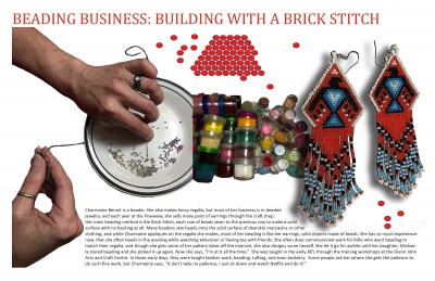 Beading Business: Building with a Brick Stitch