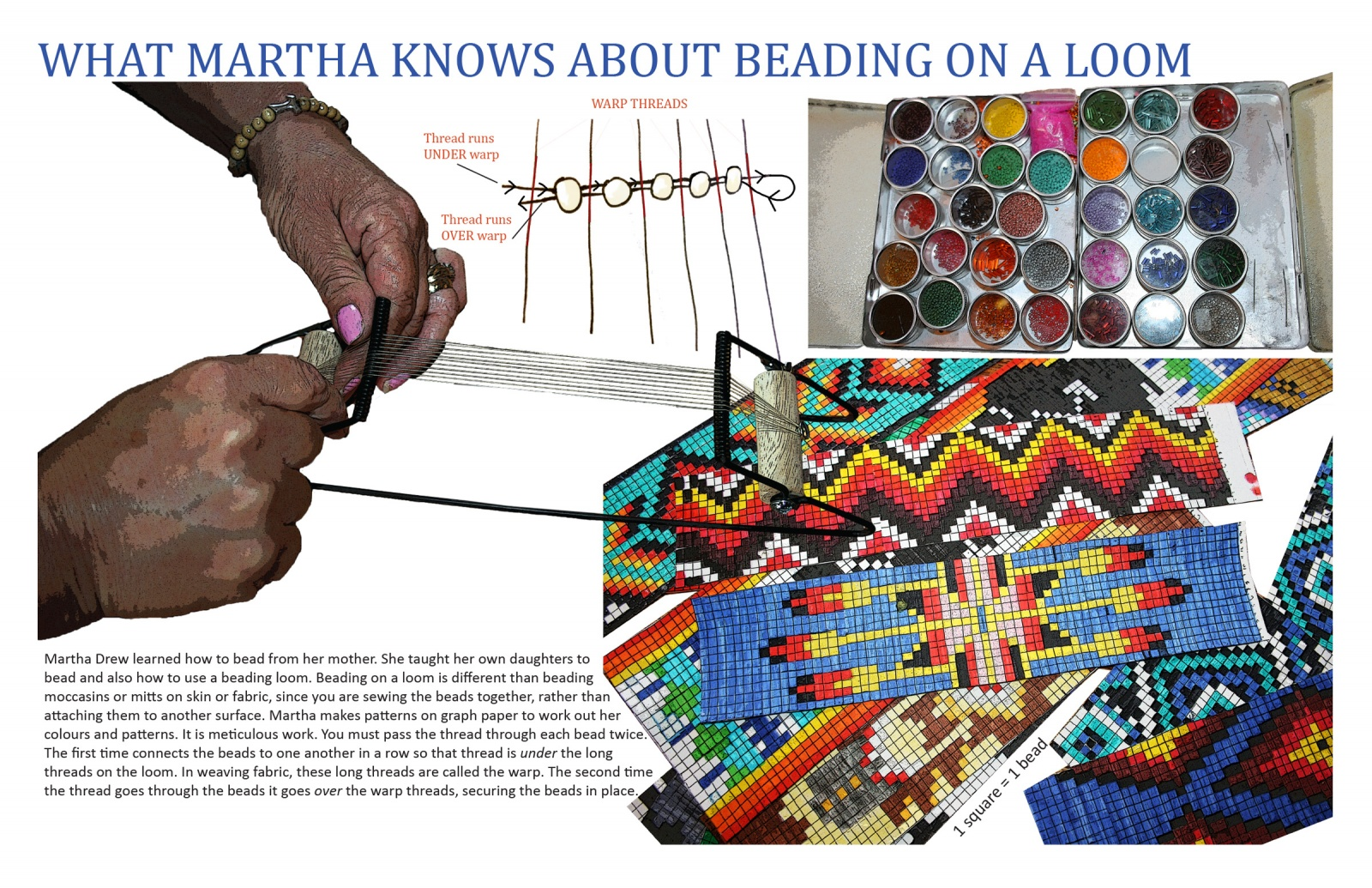 What Martha Knows About Beading on a Loom