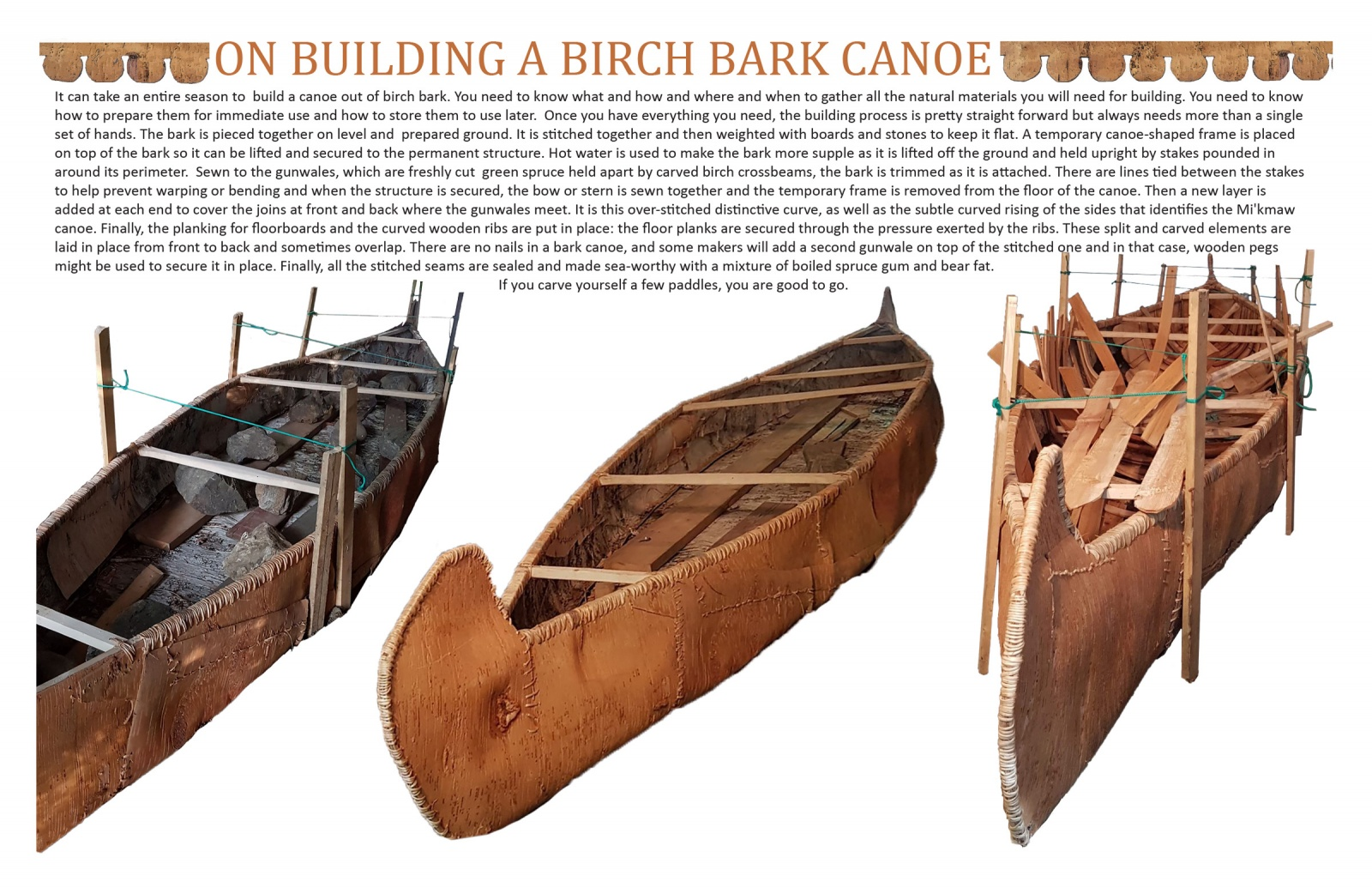 On Building a Birch Bark Canoe