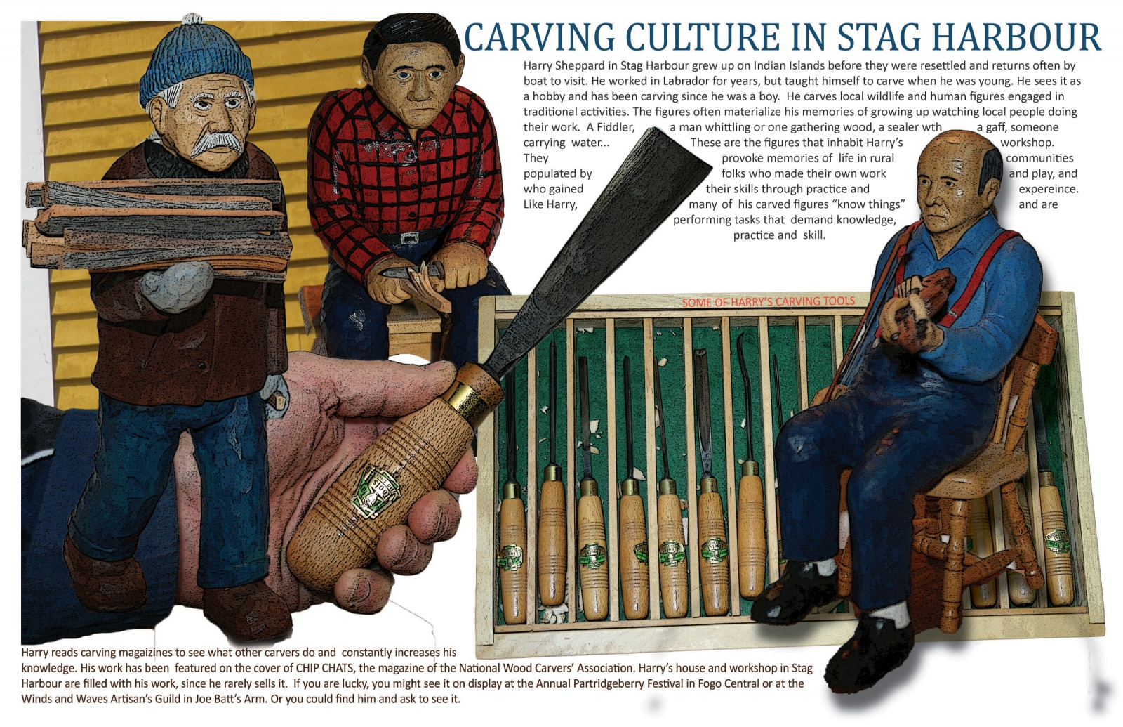 Carving Culture in Stag Harbour