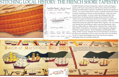 Stitching Local History: The French Shore Tapestry