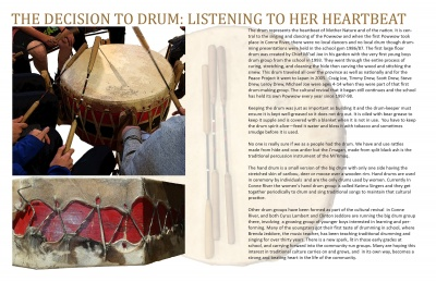 The Decision to Drum: Listening to Her Heartbeat
