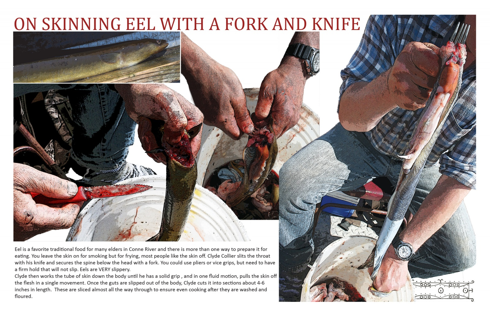 On Skinning Eel With a Fork and Knife