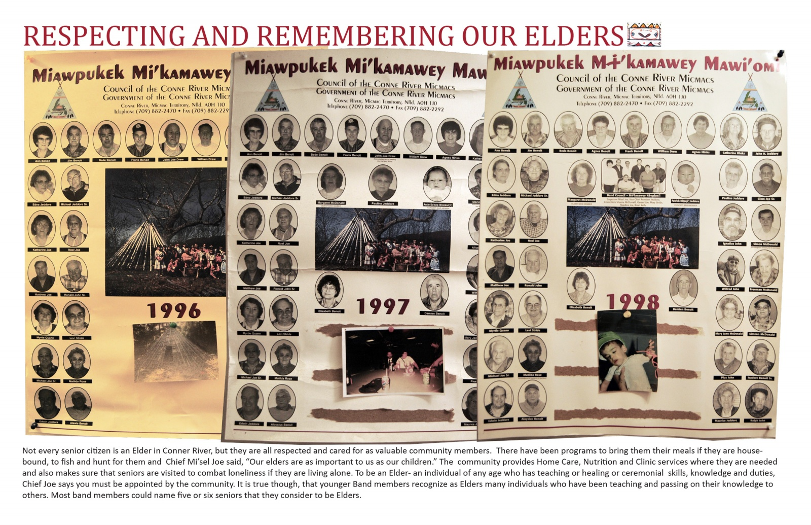 Respecting and Remembering Our Elders