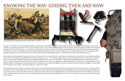 Knowing the Way: Guiding Then and Now