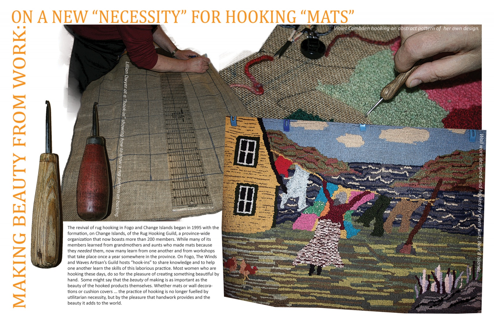 "Making Beauty From Work: On A New ""Necessity"" for Hooking ""Mats"""
