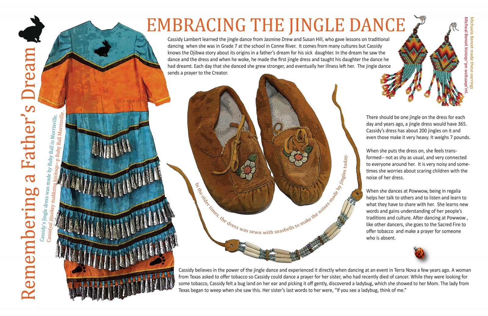Remembering a Father's Dream: Embracing the Jingle Dance