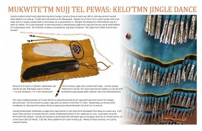 Mukwite'tm Nujj Tel Pewas: Kelo'tmn Jingle Dance