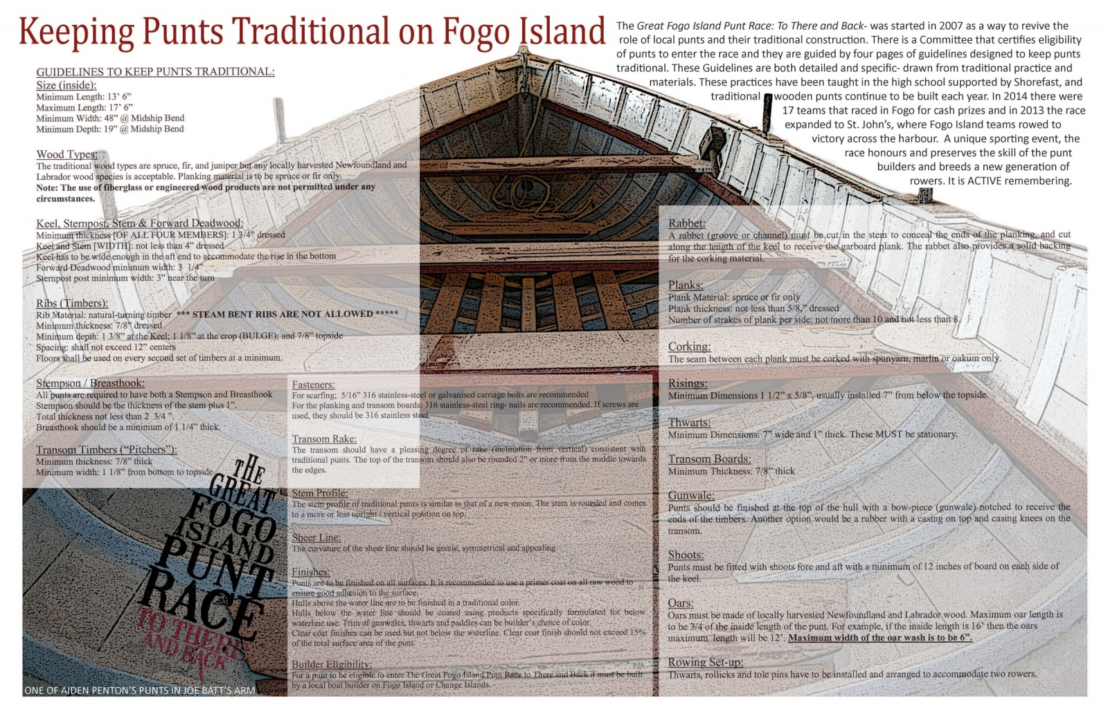Keeping Punts Traditional on Fogo Island