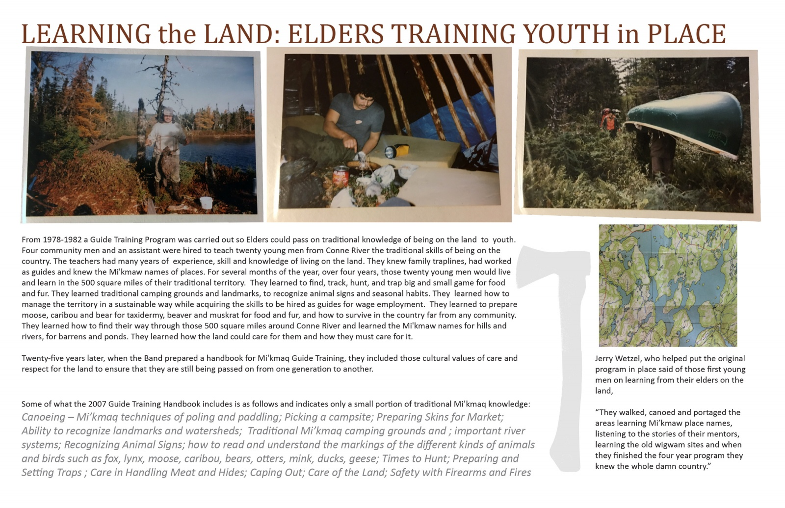 Learning the Land: Elders Training Youth in Place