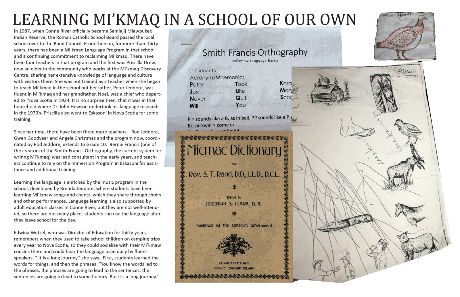 Learning Mi'kmaq in a School of Our Own
