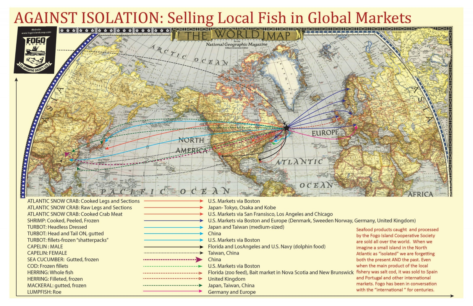 Against Isolation: Selling Local Fish to Global Markets
