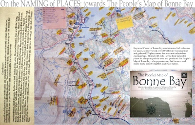 On the Naming of Places: towards The People's Map of Bonne Bay