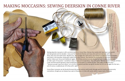 Making Moccasins: Sewing Deerskin in Conne River