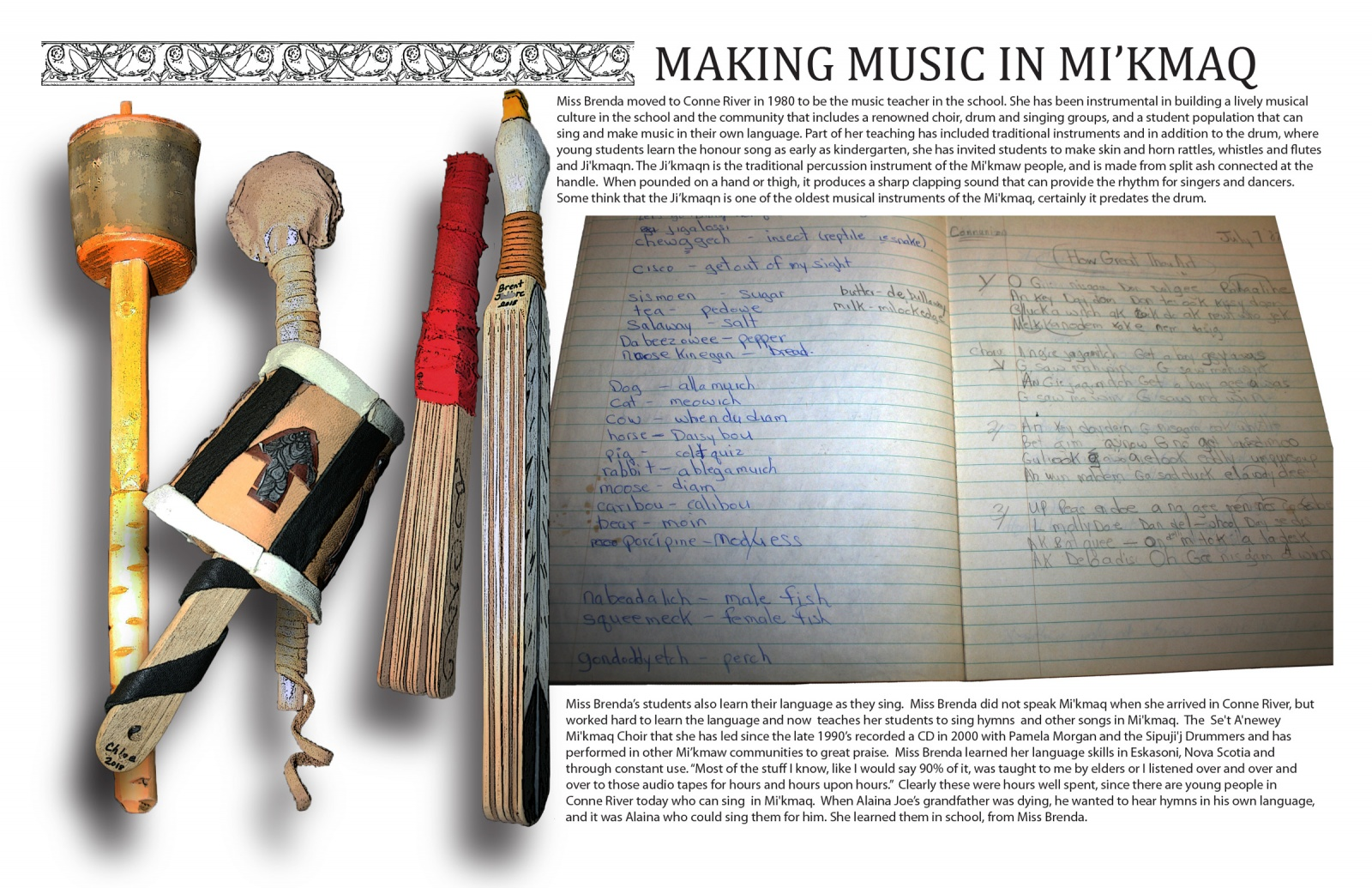 Making Music in Mi'kmaq