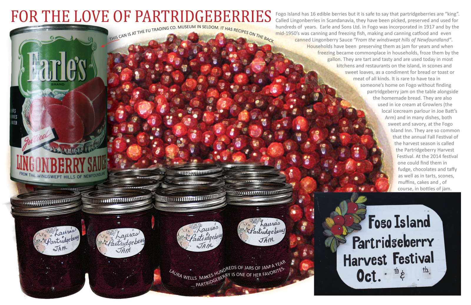 For the Love of Partridgeberries