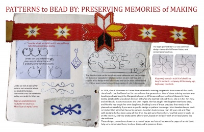 Patterns to Bead By: Preserving Memories of Making