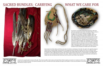 Sacred Bundles: Carrying What We Care For