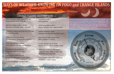Ways of Weather-Knowing on Fogo and Change Islands