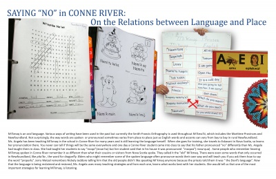 "Saying ""No"" in Conne River: On the Relations Between Language and Place"