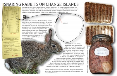 Snaring Rabbits on Change Islands