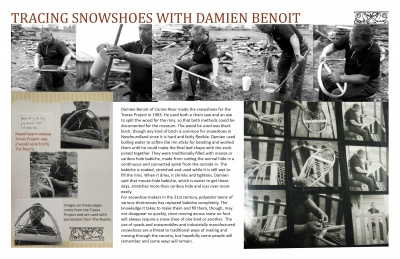 Tracing Snowshoes with Damien Benoit