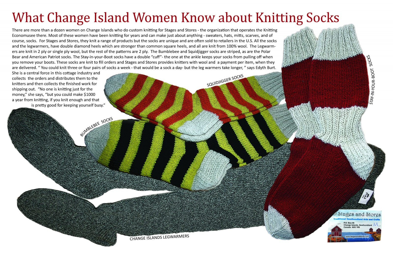 What Change Island Women Know about Knitting Socks