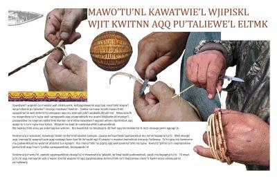 Mawo'tu'nl Kawatwie'l Wjipiskl Wjit Kwitnn Aqq Pu'taliewe'l Eltmk