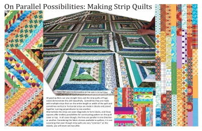 On Parallel Possibilities: Making Strip Quilts