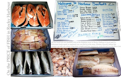 On the Price of Fish in Rocky Harbour