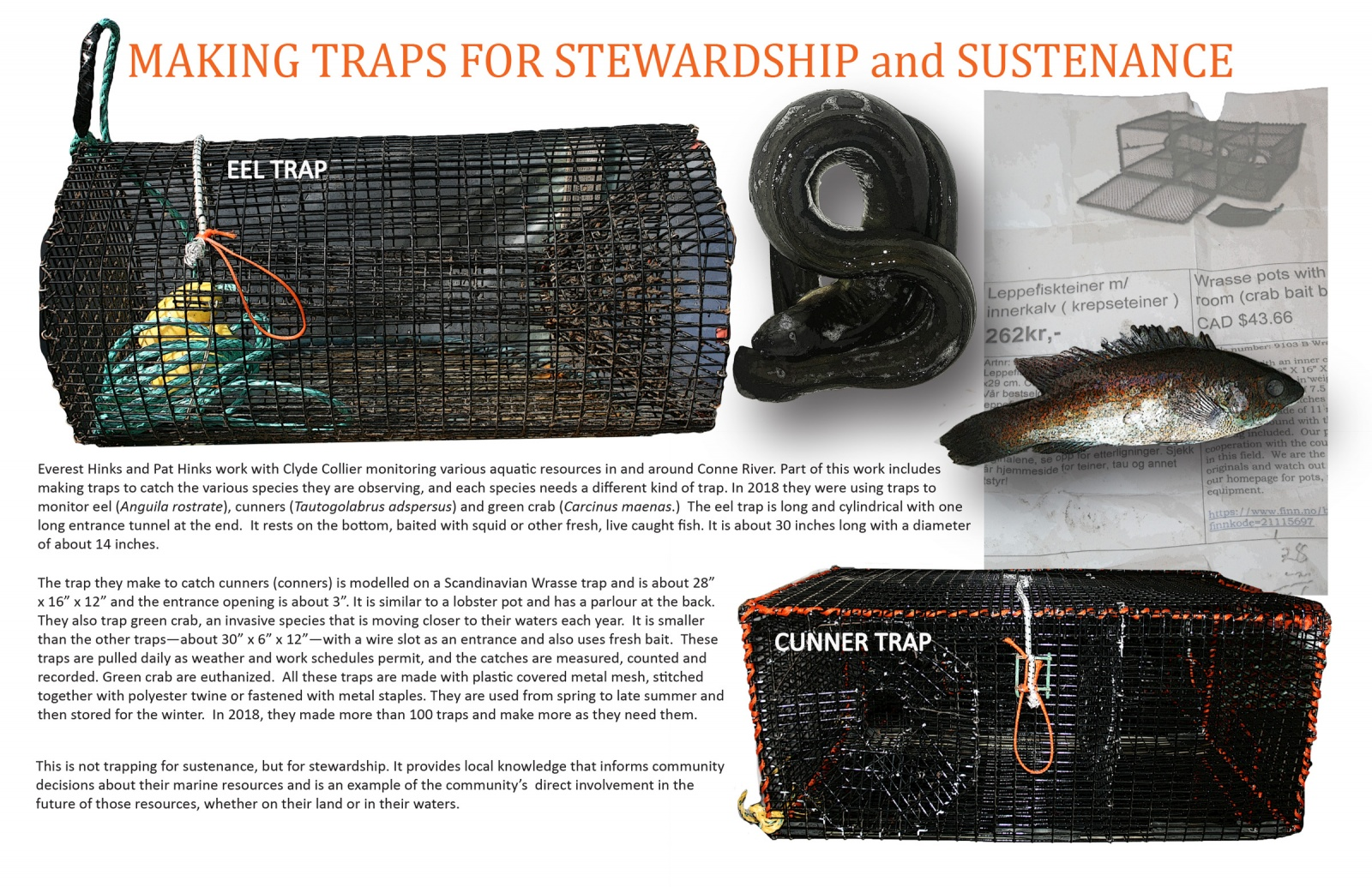 Making Traps for Stewardship and Sustenance